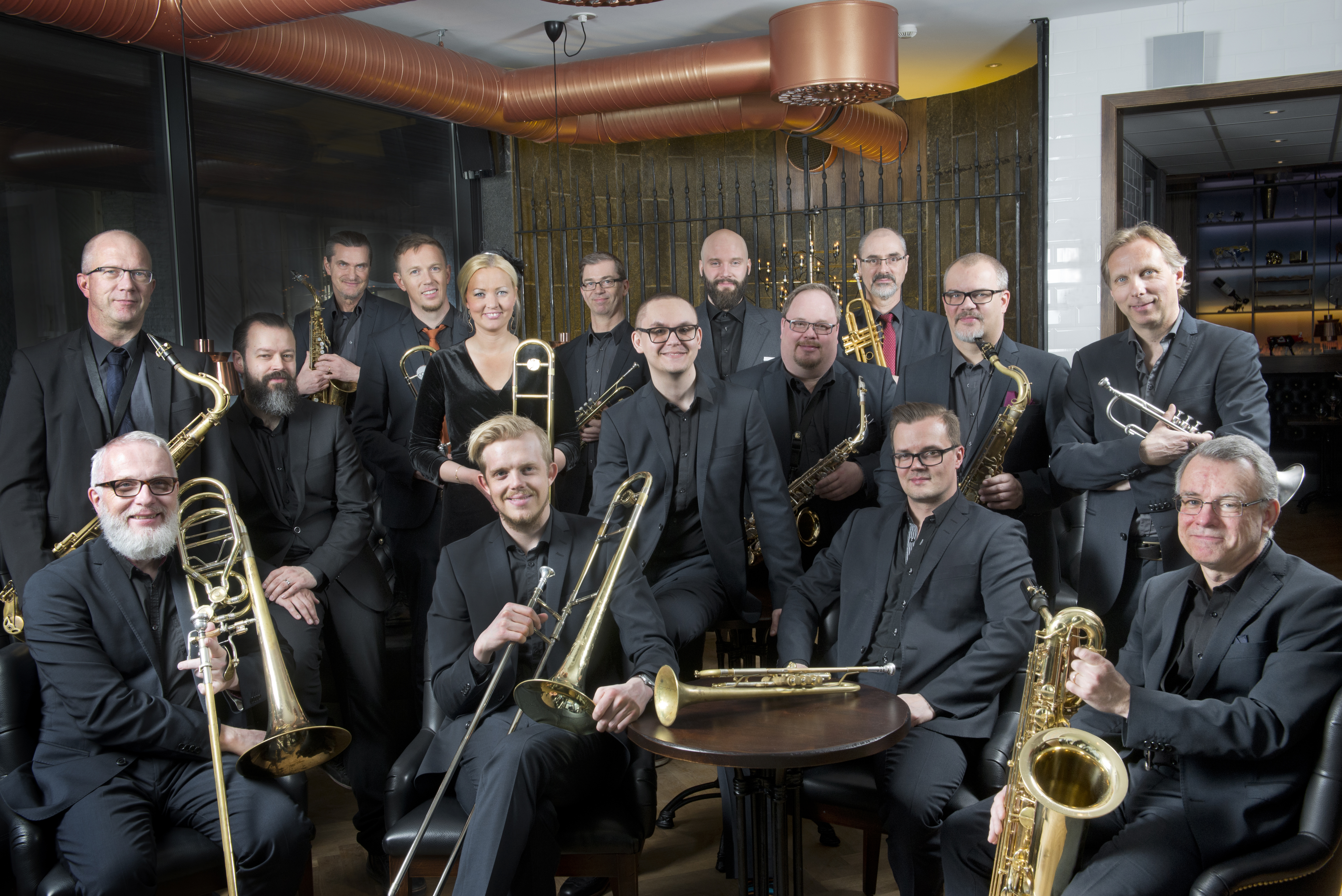 Norrbotten Big Band feat. Anne Mette Iversen – Everything in between
