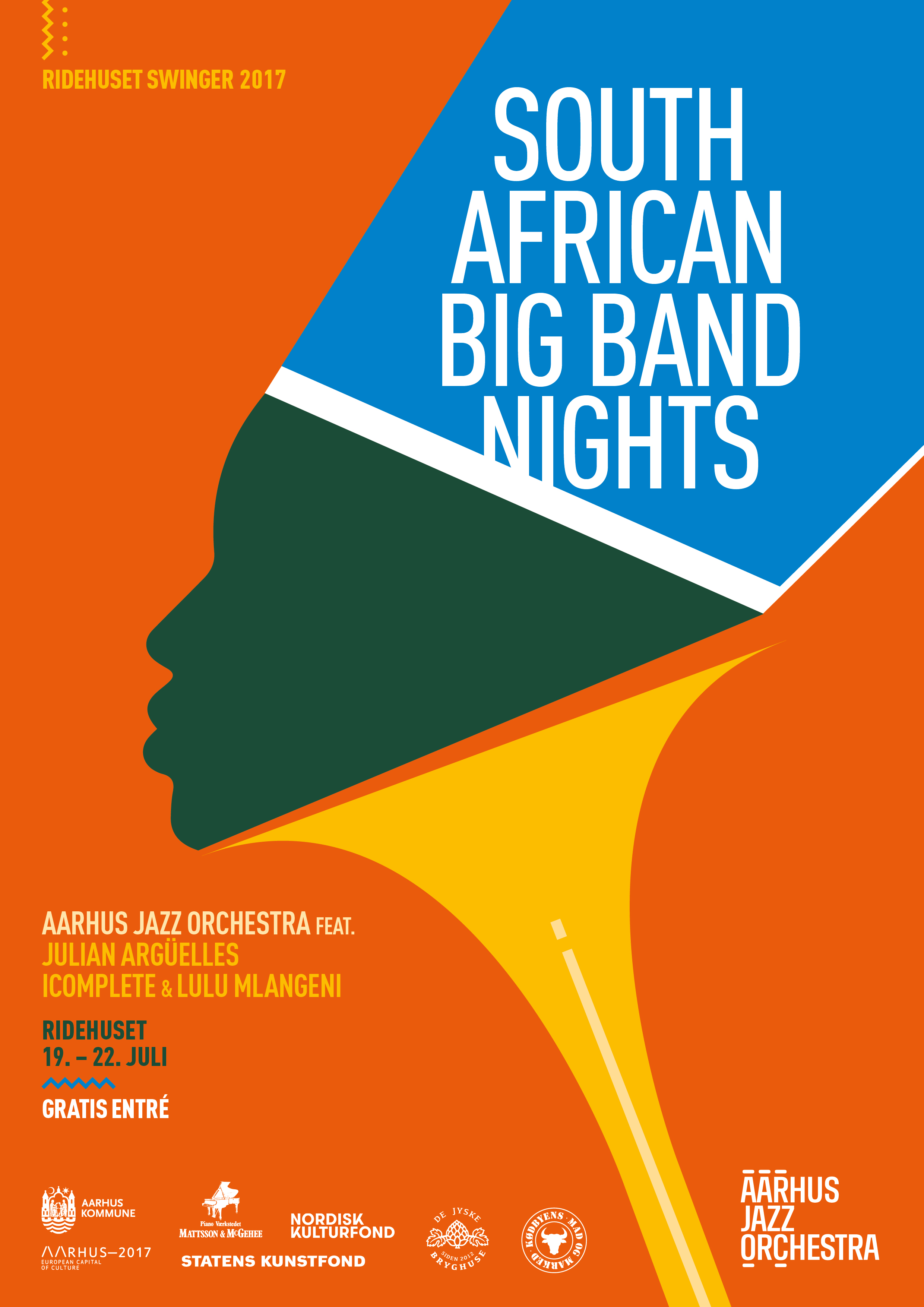 Aarhus Jazz Orchestra – South African Big Band Nights