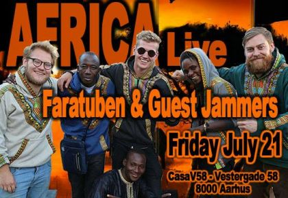 Faratuben and Guest Jammers - 20/07/2018