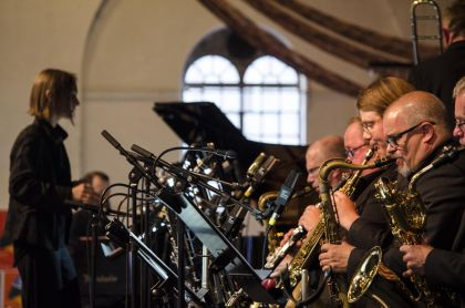 Norrbotten Big Band feat. Anne Mette Iversen – Everything in between - 22/07/2017