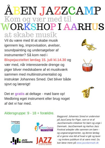 Open Jazz Camp Workshop